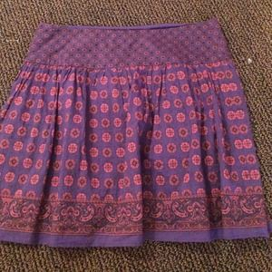 Urban Outfitters Purple Mini Skirt