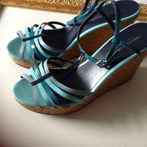 Christian Siriano Shoes - Christian Serrano Wedge Sandles