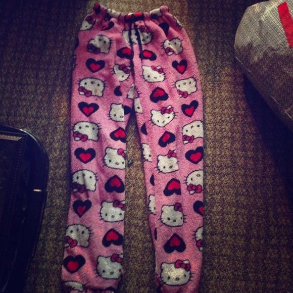 a003a78ee Hello Kitty Pants - Hello Kitty pj pants