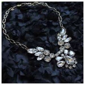 Jewelry - The Lulu Clear Crystal Estate Statement Necklace