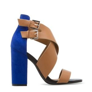 Shoedazzle Shoes - BNWB Shoedazzle Janiah Colorblock Sandals Size 9.5