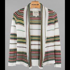 Billabong stripe cardigan sweater
