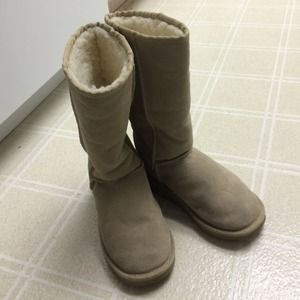 Emu tan color winter boots 36