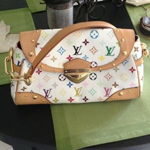 Authentic  Louis Vuitton Multicolor shoulder bag