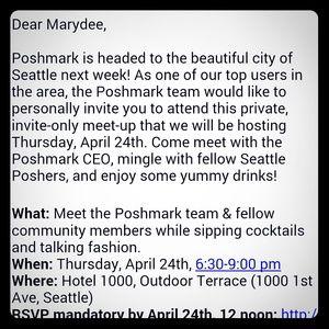 Poshmark team coming to Seattle!