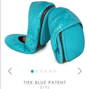 Tieks patent Leather flats