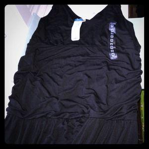 Old Navy Dresses - Maternity black tank dress NWT