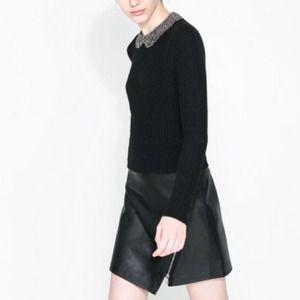 Zara Sweaters - FIRESALE! NWT Zara Angora Sweater with Rhinestones 2