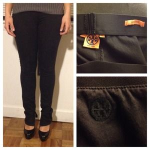 Tory Burch Denim Leggings