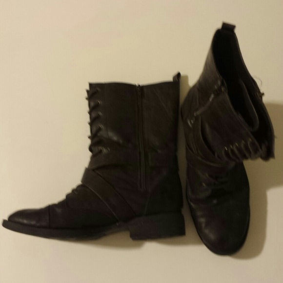 60 diba shoes diba brown combat boots from