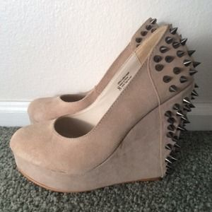 Urban Outfitters Spiked Wedges