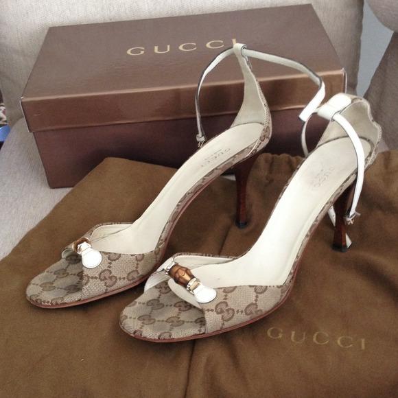 6830e0df4cc Gucci Shoes - Sale 🇺🇸Authentic gucci sandals heels logo