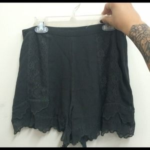 Topshop Pants - Lace shorts