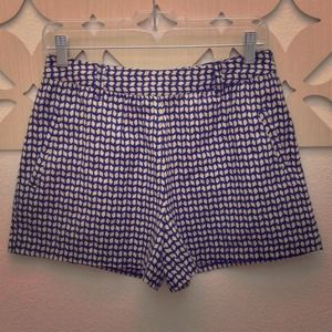 Urban Outfitters Other - 💫CLOSET C/O! High-waist navy&cream colored shorts