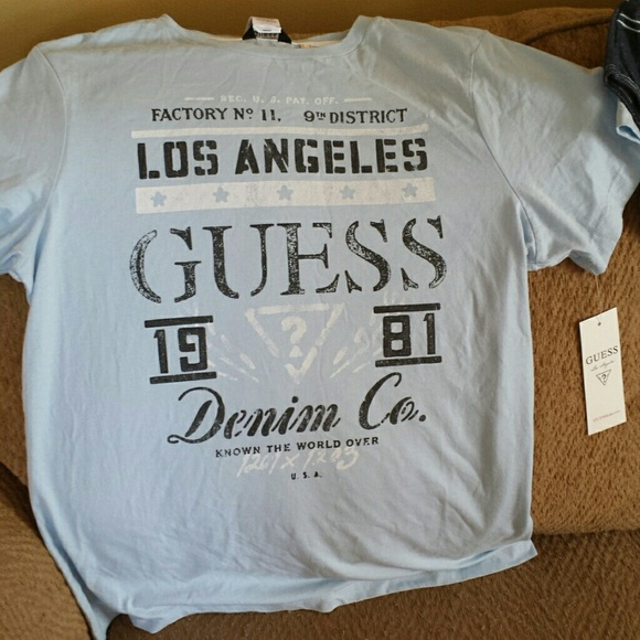 d33cd8d9ee26 Guess Tops | Boys Tee Shirt | Poshmark