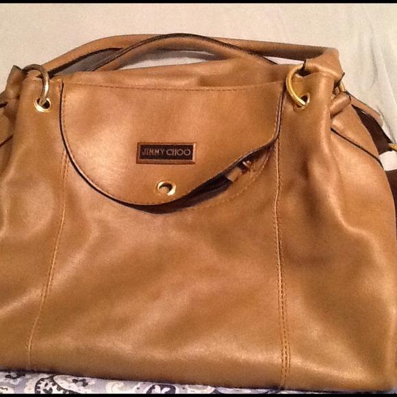 c2a72ba2dd9 Jimmy Choo Bags | Shoulder Bag Tan Buttery Soft Leather | Poshmark