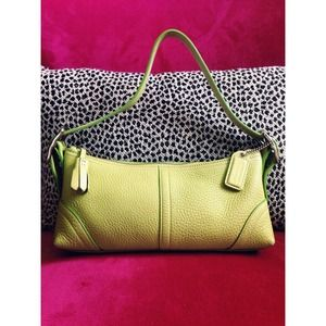 Coach Handbags - Light Green Coach Handbag