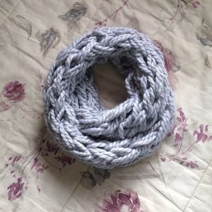 Accessories - Chunky Knit Infinity Scarf