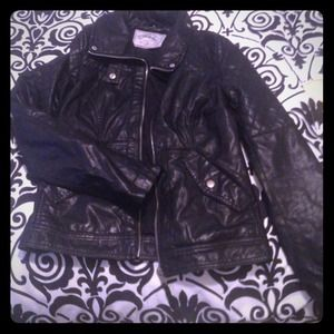 Light Leather Moto Jacket