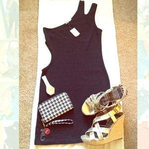 Papaya One Shoulder Cutout Dress