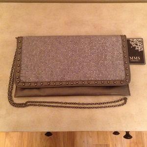 Metallic Convertible Bag (purse/clutch)