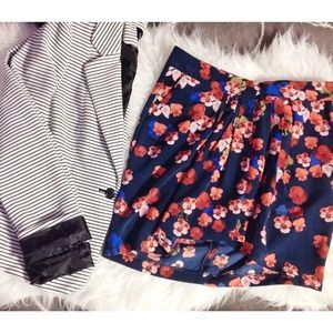 Jessica Simpson Floral Wrap Skirt
