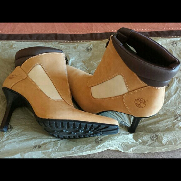 timberland heels boots for women