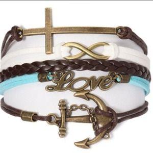 Ashley Bridget Jewelry - Ashley Bridget Leather Bracelet