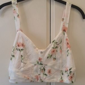 Floral Crop Top *NEW*