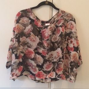 LF Floral Rose Top *NEW*