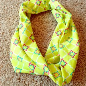 Lime All Yours Infinity Scarf