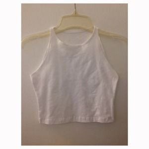 American Apparel Sleeveless Crop Top