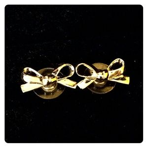 Authentic Kate Spade bow earrings