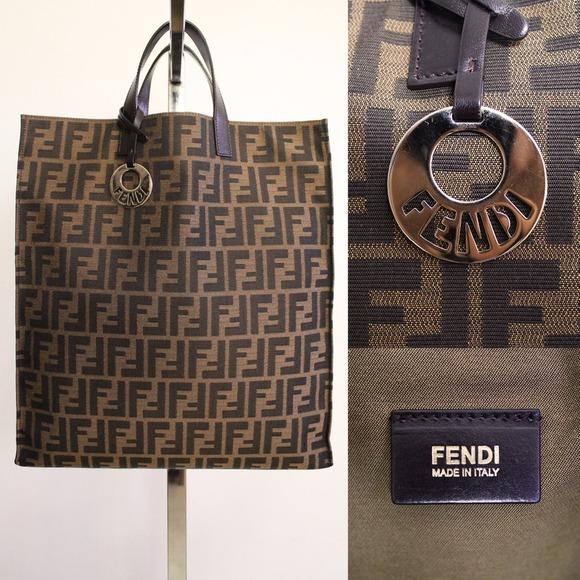 0d0b8b7cf9d FENDI Bags   Zucca Shopper Tote   Poshmark