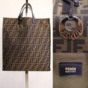 competitive price 3401a e9a9b Fendi Zucca Shopping Bag Prezzo | Jaguar Clubs of North America