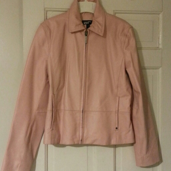 87% off Black Rivet Jackets & Blazers - Dusty Rose Pink Leather ...