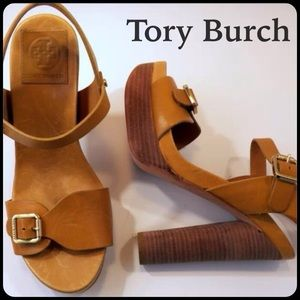 ❤️ 2X Host Pick ✅NEW  Tory Burch Stacked Heels