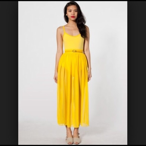 33% off American Apparel Dresses & Skirts - American Apparel ...