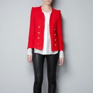 Zara Jackets & Blazers - Zara Tweed Jacket
