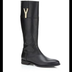 Yves Saint Laurent Shoes - ❗️Sale❗️✨HP x2✨YSL black leather chyc riding boots