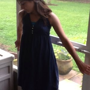 Aeropostale navy sundress NWT