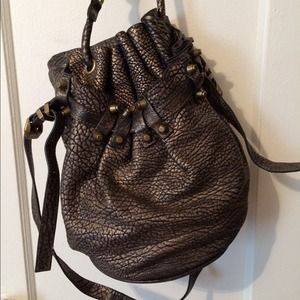 Alexander Wang Diego metallic bag