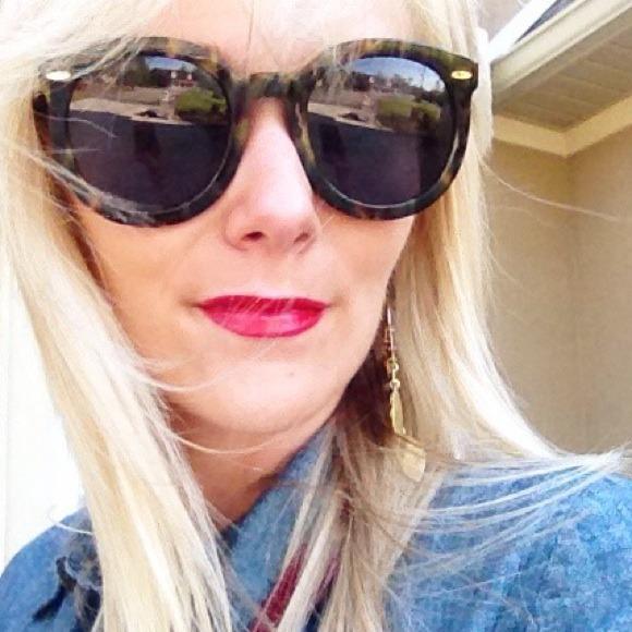2233bfffccba Karen Walker Accessories - Karen walker super duper sunglasses tortoise