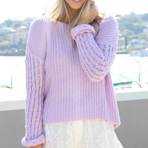SABO SKIRT PURPLE SWEATER