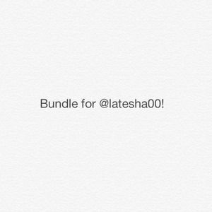 Bundle for @latesha00