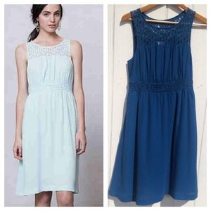 🎉HOST PICK🎉Anthropologie LaceYoke Dress