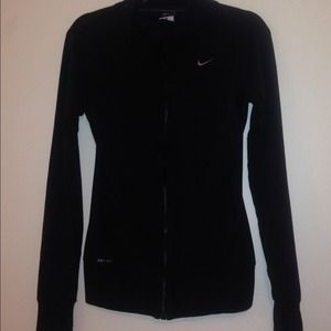 Nike Black Zip-up jacket