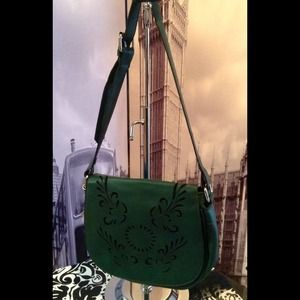 Deep Green Mini Bag