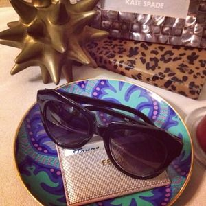 Accessories - {Bundle} Cat eye sunglasses and J. Crew Necklace