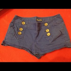 Express Other - Royal blue express button shorts
